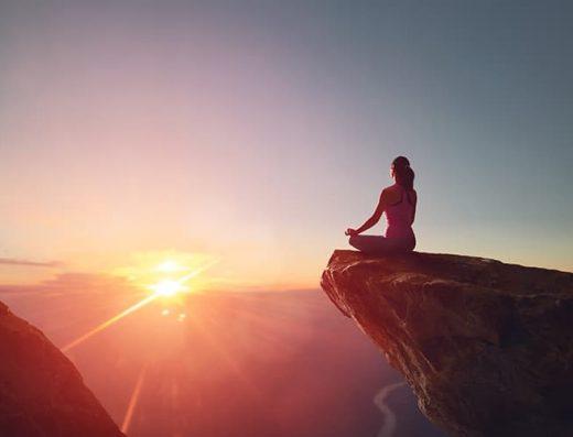 Quantum light breath meditatie